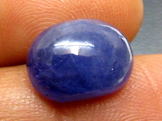 6.1 Cts Cabochon Charyouty Tanzanite gemstone GG 1374
