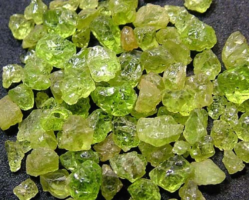 PERIDOT ROUGH (PARCEL) 50 CTS FN 2071  (LO-GR)