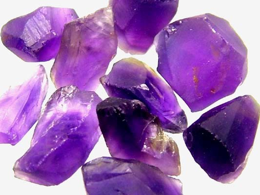 AMETHYST NATURAL ROUGH (PARCEL)  25 CTS FN 2342  (LO-GR)