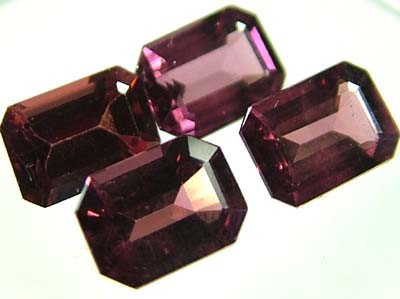VS  RHODOLITE GARNET  4 PIECES 4.85CTS [S1678 ]