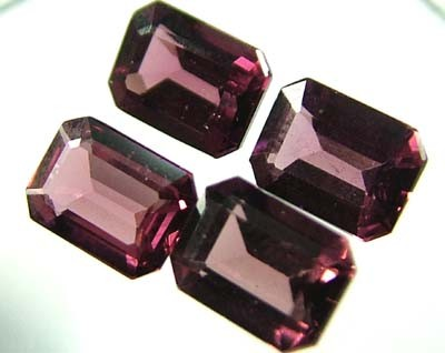 VS  RHODOLITE GARNET  4 PIECES 4.5CTS [S1674 ]
