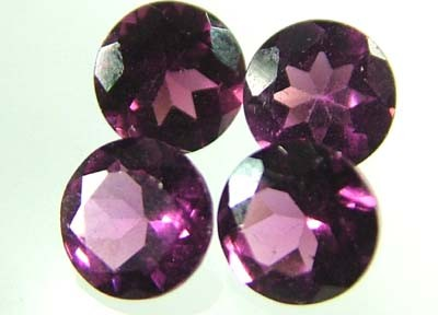 VS  RHODOLITE GARNET  4 PIECES 2.33CTS [S1632 ]