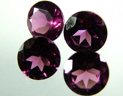 VS  RHODOLITE GARNET  4 PIECES 2.24CTS [S1637 ]