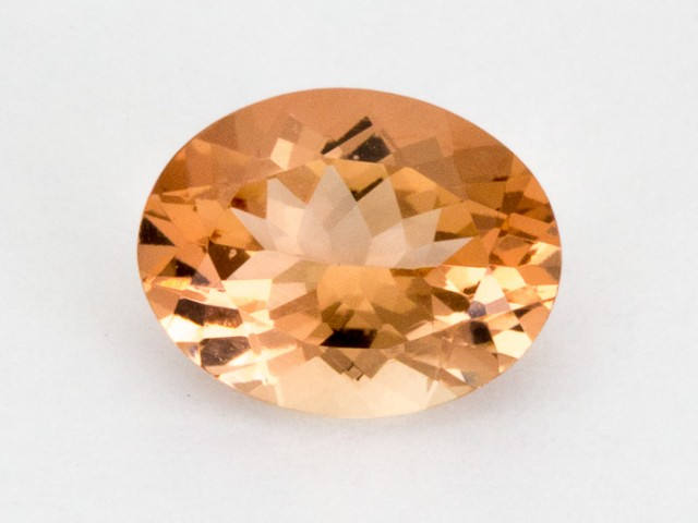 1.6ct Peach Oval Sunstone (S2268)