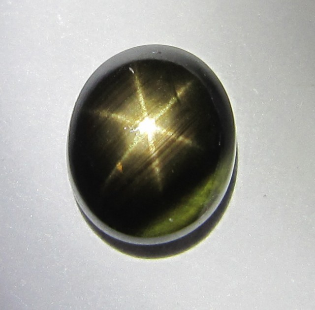 2.47cts Natural Star Sapphire Oval Cab