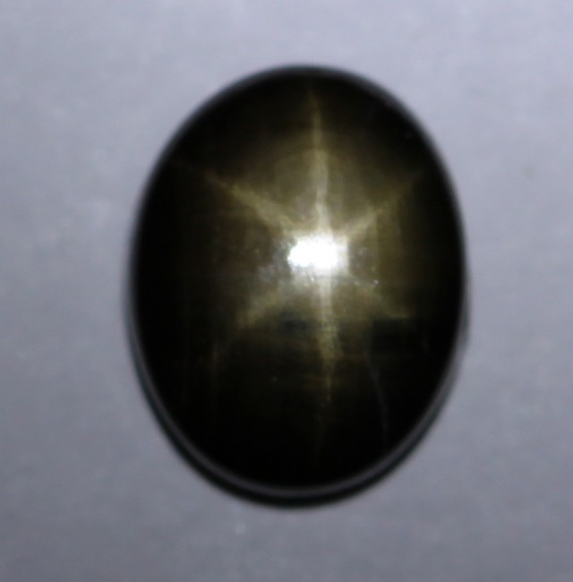 2.52cts Natural Star Sapphire Oval Cab