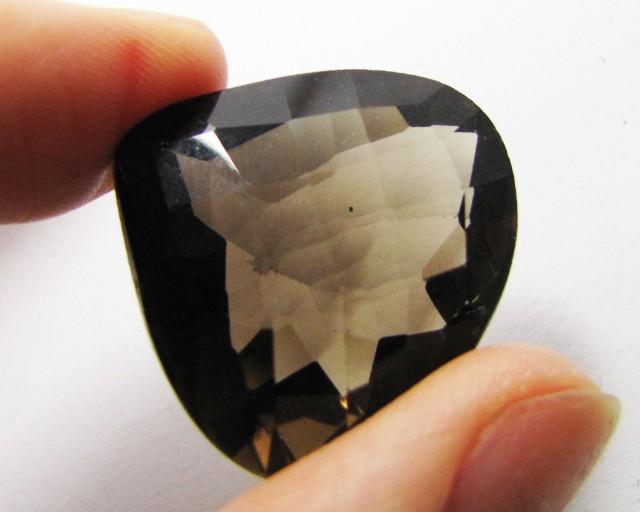 47.65 Cts Faceted  Pear Shape  Smokey Quartz   MYGM 1426