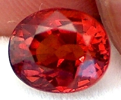 1.95ct 'Fiery'  Orangey-Red Spessarite Garnet Oval VVS TH155G224