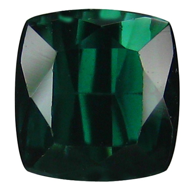 ALLURING TOP BLUE-GREEN PARTY COLOR TOURMALINE CUSHION AAA