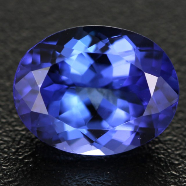 2.29 cts CERTIFIED Natural AA+ Tanzanite - Top (Zoisite) (TAN42)