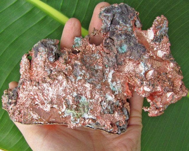 1.138 Kilo HUGE USA Copper  Speciemn  MYGM 1536