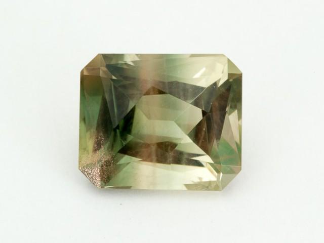 SALE WAS $1654 ~ 9.05ct Oregon Sunstone, Green Champagne Emerald Cut,  (S05
