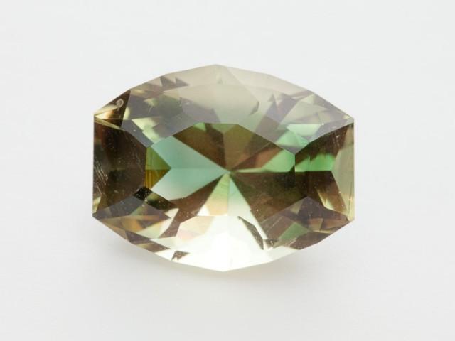 SALE WAS $4620 ~ 12ct. Oregon Sunstone, Green/Gold Barrel Cut, 12ct (S197)
