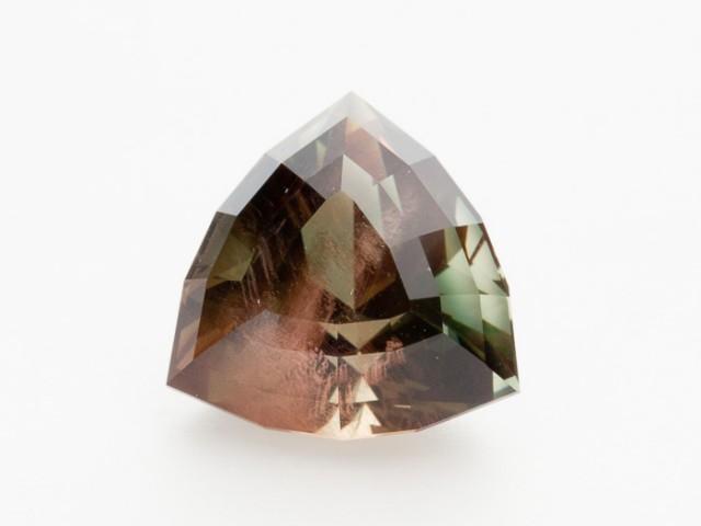11.55ct Rootbeer Triangle Oregon Sunstone (S335)