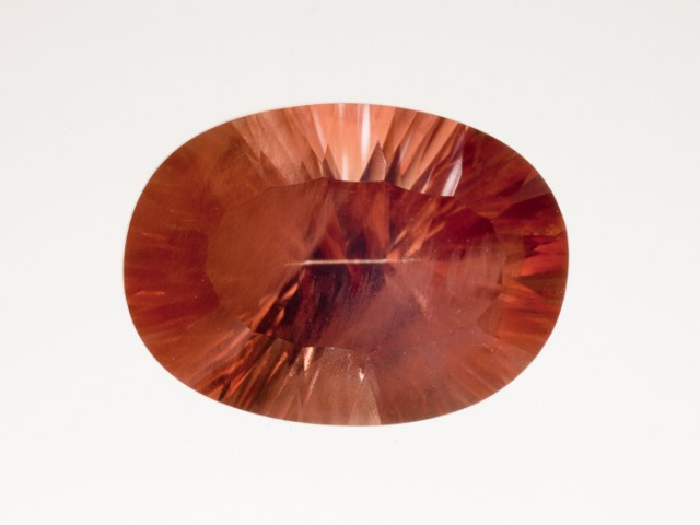 5.85ct Red Oval Oregon Sunstone (S633)