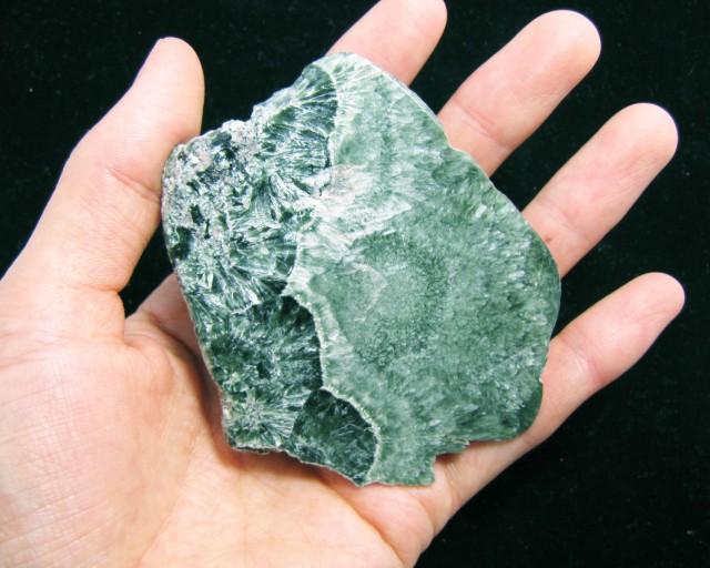 550 Cts  Siberian Serphinite Polished Specimen  MYGM 1557