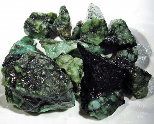 50 Grams Parcel  Brazil Emerald Rough RB12