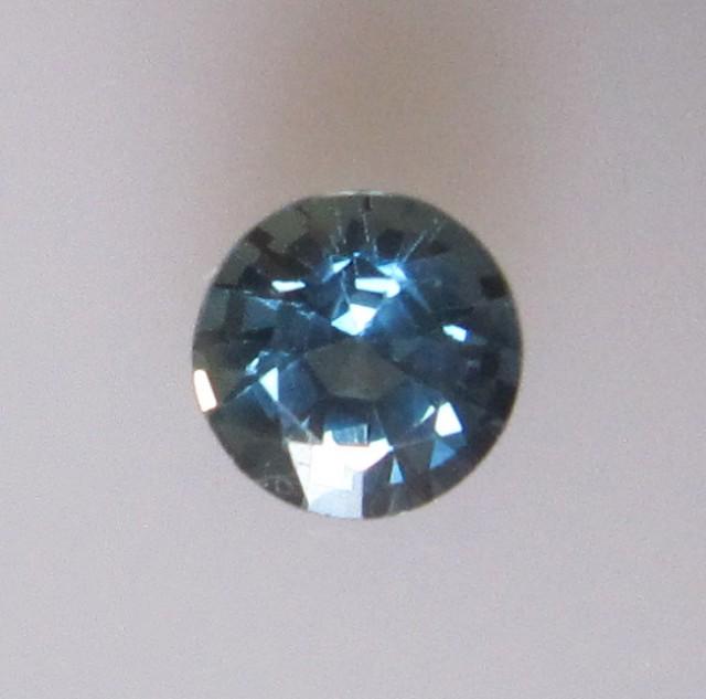 0.82cts Natural Australian Blue Sapphire Round Cut