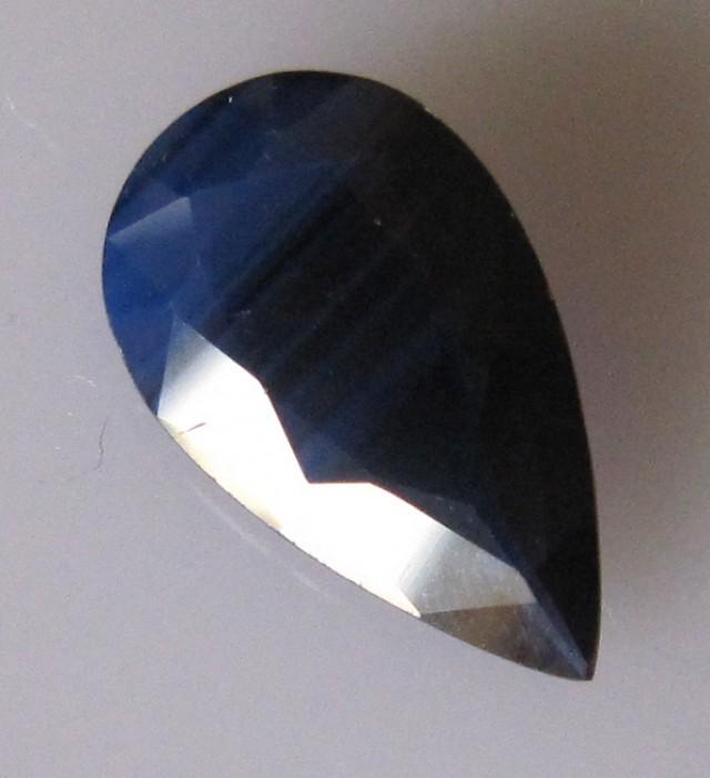 2.62cts Natural Australian Blue Sapphire Pear Cut