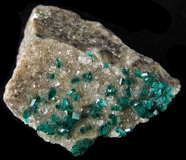 29.50CTS RARE EMERALD GREEN DIOPTASE FROM KAZAKHSTAN MGW4043