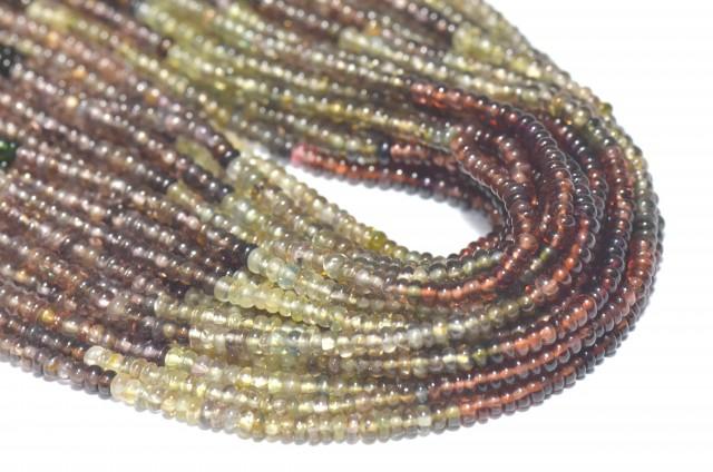 Tunduru Garnet AAA smooth beads 2.5mm Color B 13