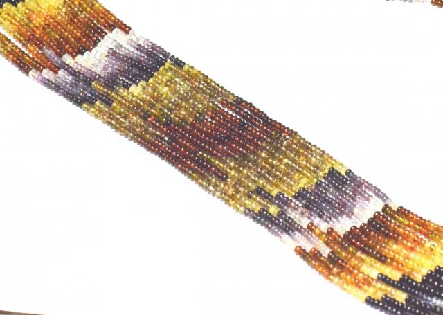 Tunduru Garnet AAA smooth beads 3 to 3.5mm 13