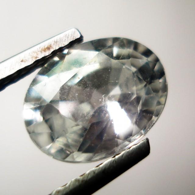 DIAMOND WHITE NATURAL ZIRCON FLAWLESS UNHEATED UNTREATED