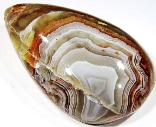 28.25 CTS TOP LAGUNA LACE AGATE FROM MEXICO [ST8062]