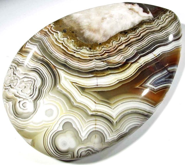 41.15 CTS TOP LAGUNA LACE AGATE FROM MEXICO [ST8069]