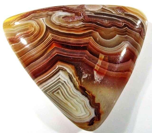 16.50 CTS TOP LAGUNA LACE AGATE FROM MEXICO [ST8090]