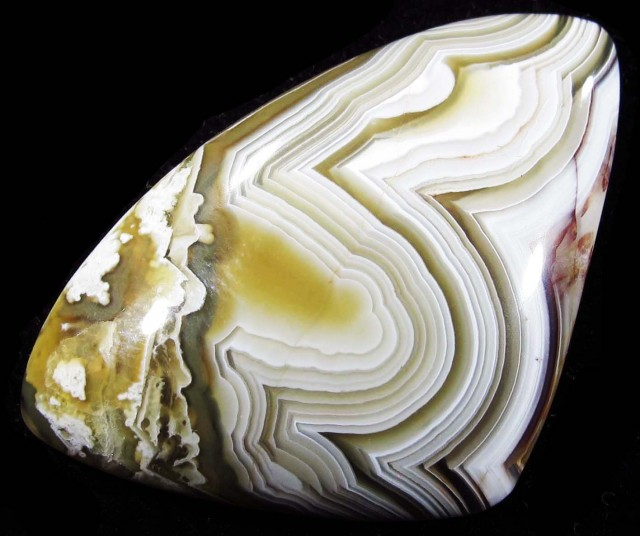 36.40 CTS TOP LAGUNA LACE AGATE FROM MEXICO [ST8092]