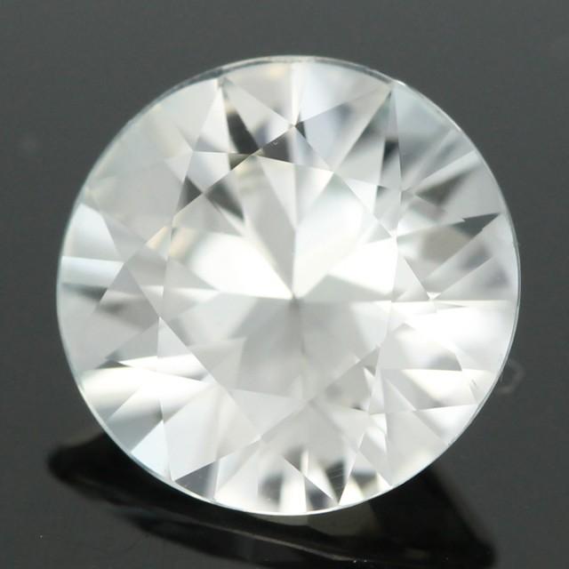 3.23 CTS CERT LARGE DIAMOND CUT WHITE ZIRCON (ZCC9)