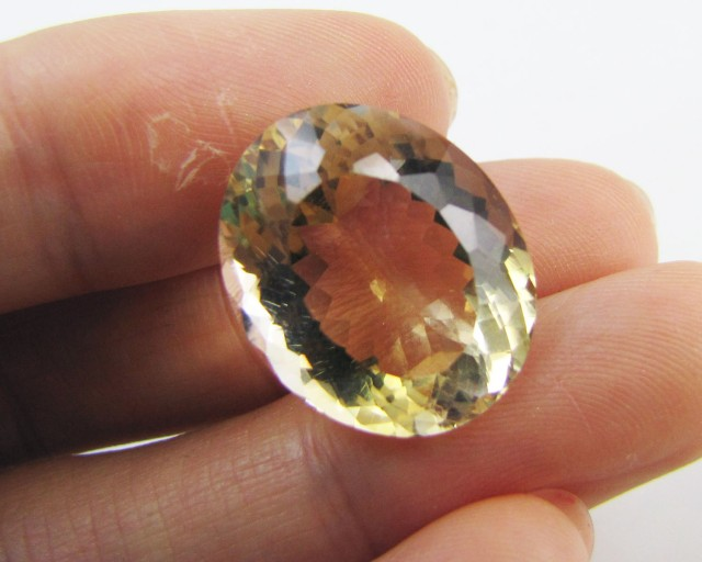 17.15 Cts Oval   faceted clean Citrine GG 2273