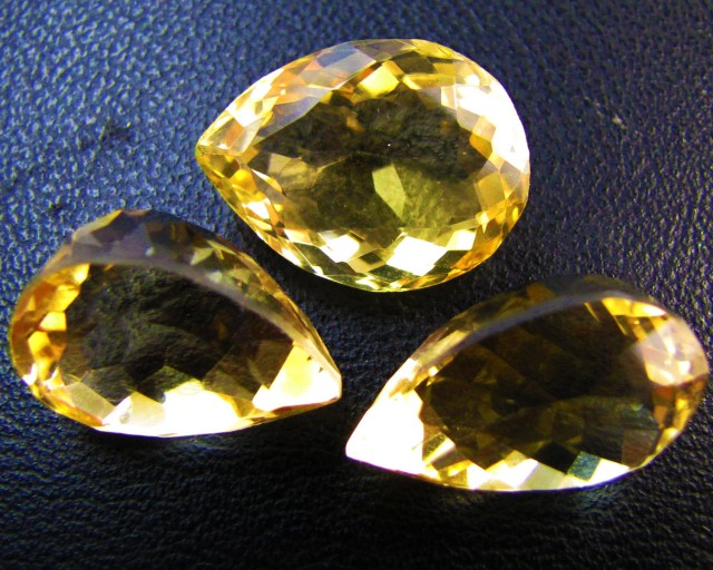 31.4 Cts Parcel faceted clean Citrine GG 2282