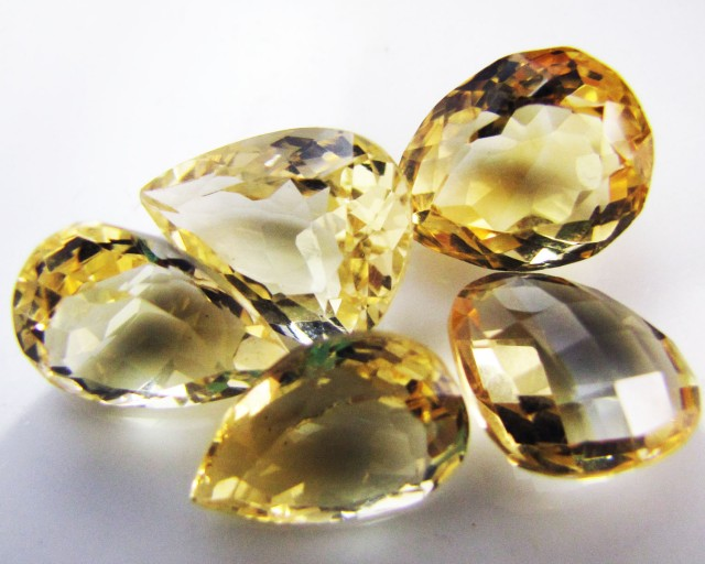 21.7 Cts Parcel faceted clean Citrine GG 2286