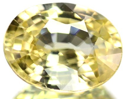 Sparkles with Brilliance 2.54ct Yellow Zircon Cambodia RS7 F57