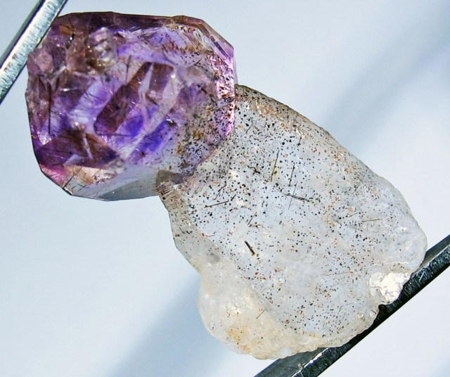 14.60 CTS AMETHYST SCEPTER FROM NAMBIA [MGW4174]