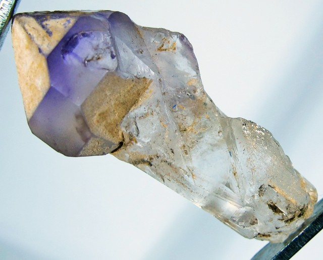 13.77 CTS AMETHYST SCEPTER FROM NAMBIA [MGW4190]