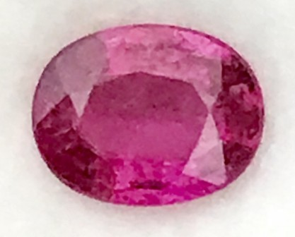 1.45ct Lovely Purple Red Oval Rubelite Tourmaline, RS10/1