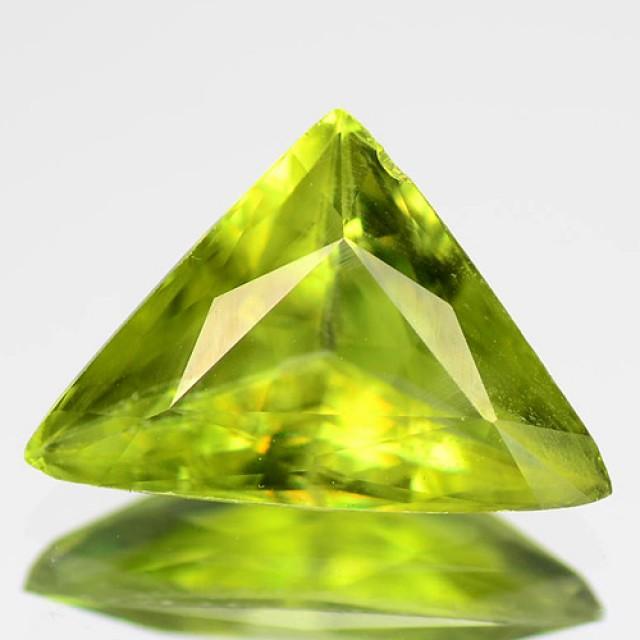 Brilliant Sparkles 1.95ct Sweet Green Sphene VVS RS11/5