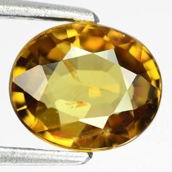 Brilliance of a Diamond 3.55ct Honey Gold Yellow Sphene RS12/1