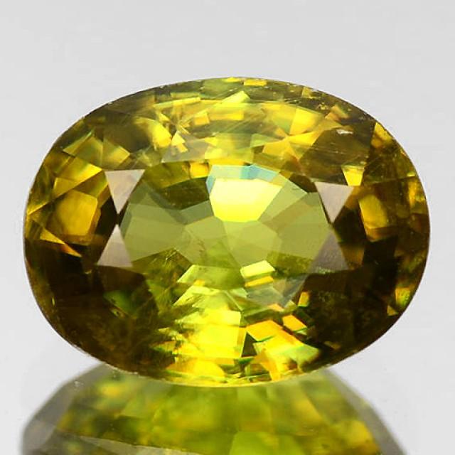 Sparkles with Brilliance Bright GoldYellow Sphene VVSRS33/9