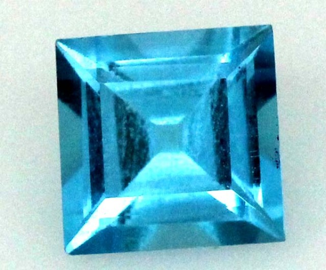 BLUE TOPAZ  NATURAL STONE FACETED 1.8  CTS TBG 691