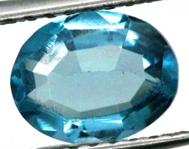 BLUE TOPAZ  NATURAL STONE FACETED 2.25  CTS TBG 700