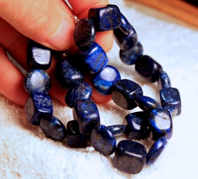 606 Tcw. Lapis Lazuli Strand - 16 inches - Beautiful