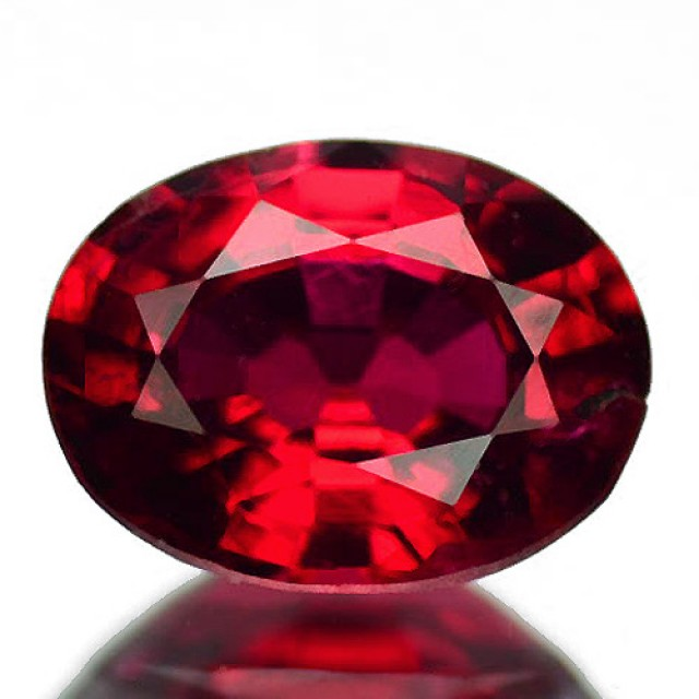 Awesome ! CERTIFIED Ruby Red Spinel - Burma VVS  RS17