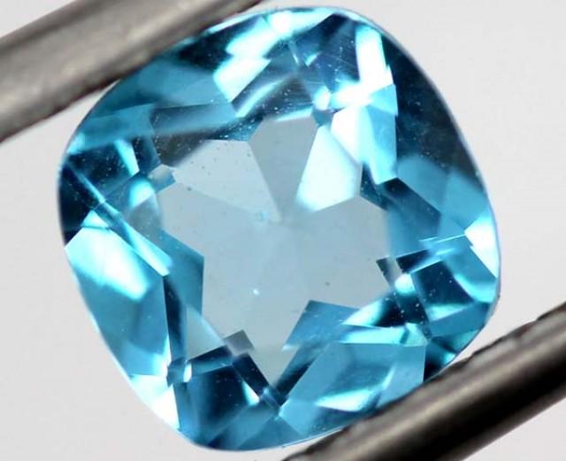 SWISS BLUE TOPAZ  1 CTS  TBG-768