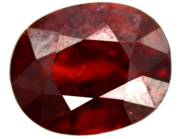 RED GARNET GARNET FACETED  3  CTS TBG-760
