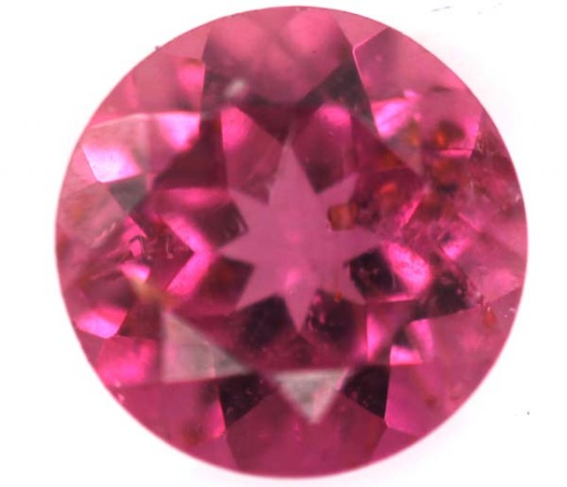 REDDISH PINK TOURMALINE FACETED 1  CTS TBG-741