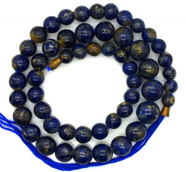 LAPIS BEADS DRILLED  NATURAL  155  CTS NP-232
